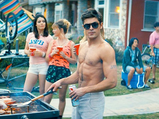 Zac Efron in Neighbours