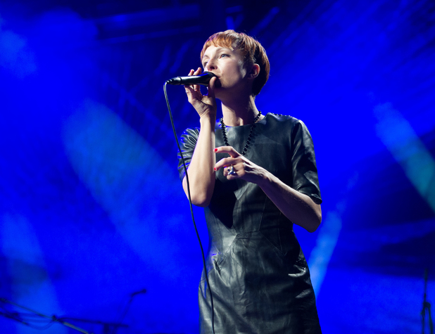 Polica's Channy Leaneagh - iTunes Festival - September 2, 2013