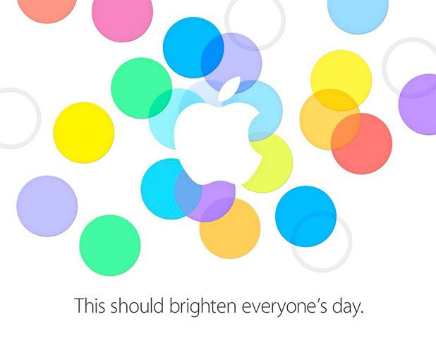 Apple September 10 launch invite