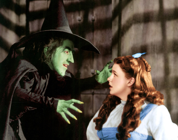 Margaret Hamilton, Judy Garland in 'The Wizard of Oz'