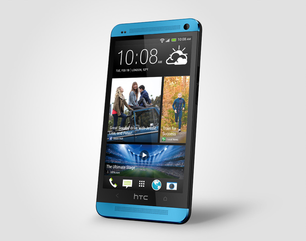 HTC One Blue