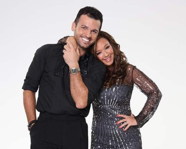 Dancing With The Stars 2013: Leah Remini and Tony Dovolani