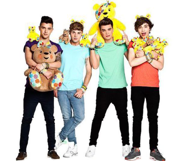 Union J for BBC Children in Need