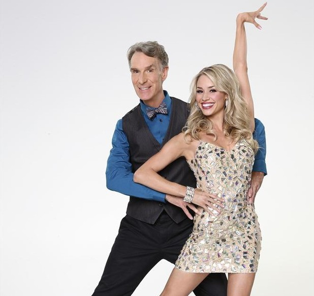 Dancing With The Stars 2013: Bill Nye and Tyne Stecklein