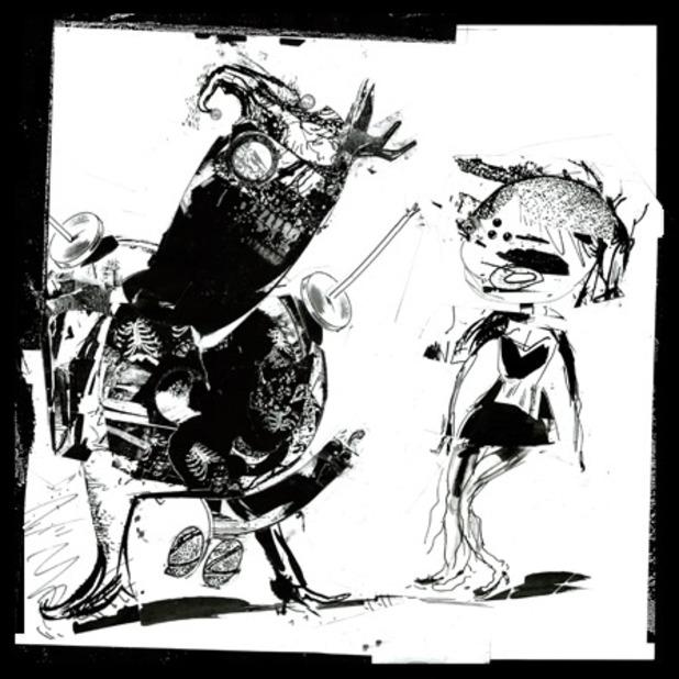 Pixies EP sleeve
