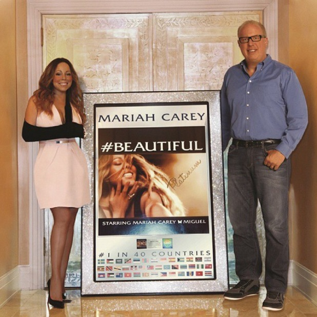 Mariah Carey 'Beautiful' single certified platinum
