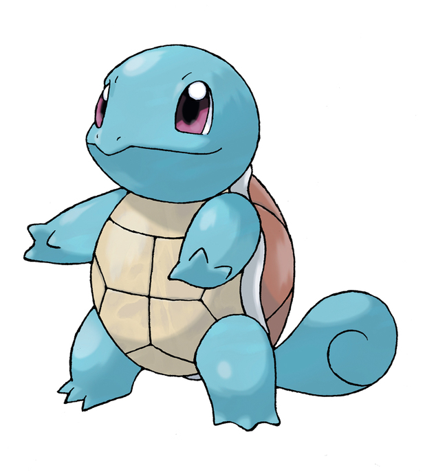 Pokemon X and Y: Squirtle