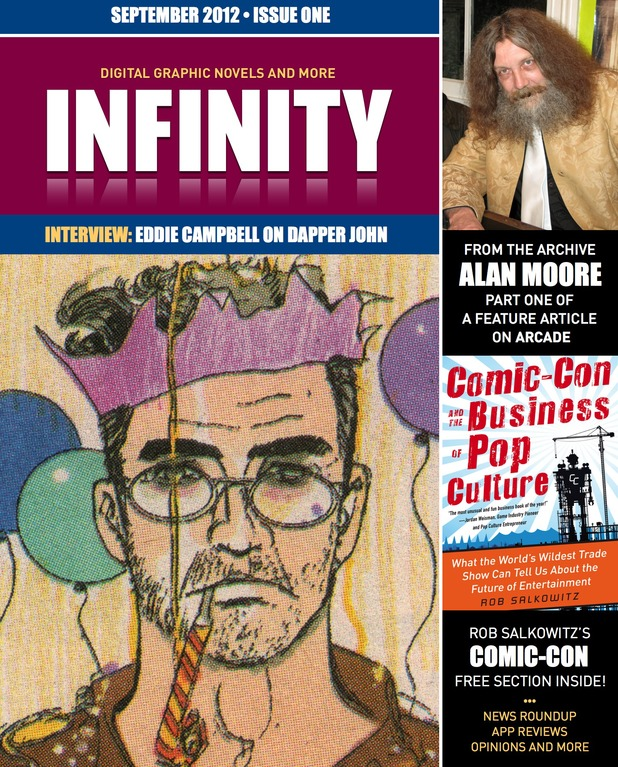 Panel Nine's free digital comics magazine Infinity.
