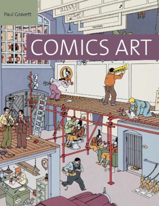 Paul Gravett's 'Comics Art' cover
