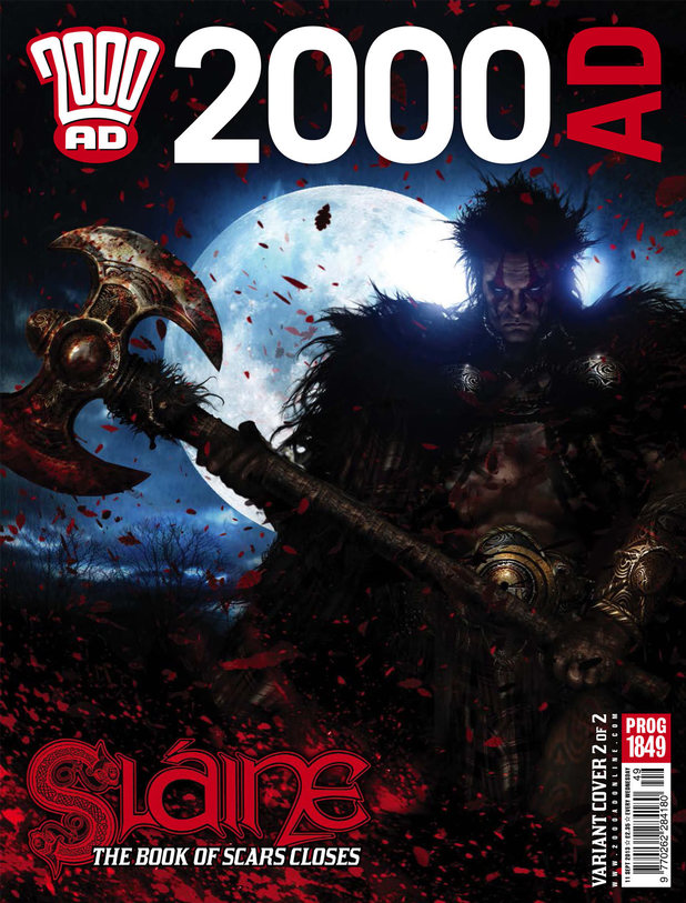 '2000 AD' Prog 1849 cover Variant 1