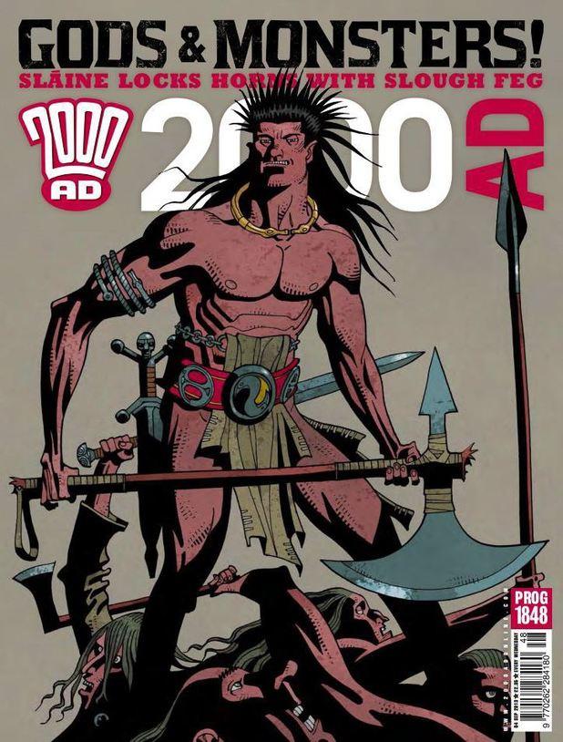 '2000 AD' Prog 1848 cover