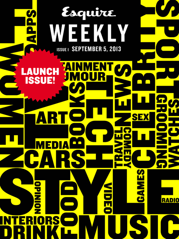 Esquire Weekly launch cover