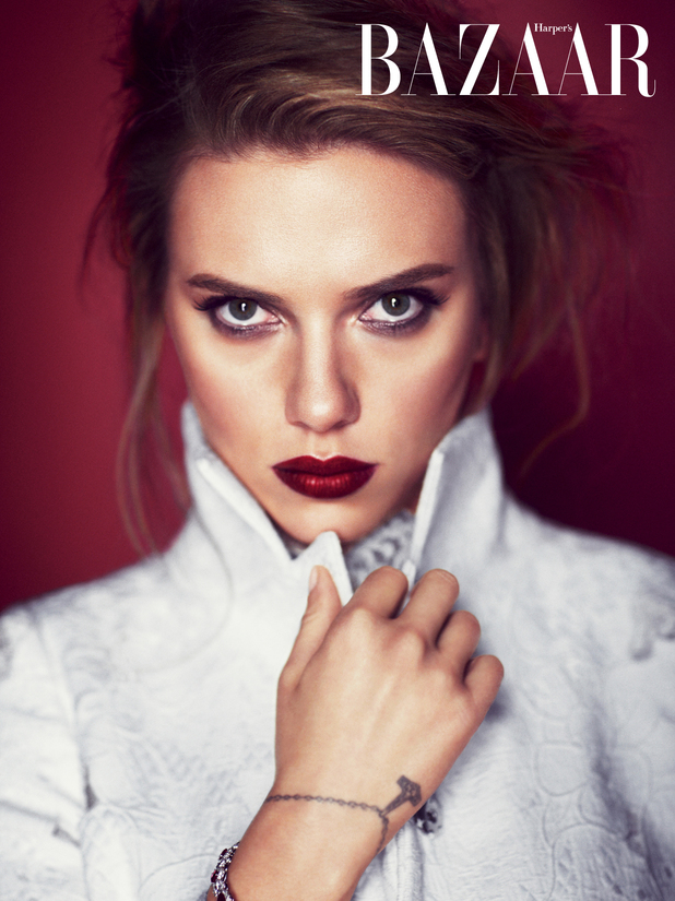 Scarlett Johansson photo shoot for Harper's Bazaar