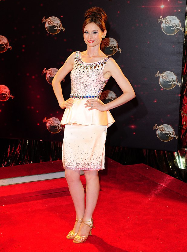 Sophie Ellis-Bextor arriving for the Strictly Come Dancing Photocall at Elstree Studios