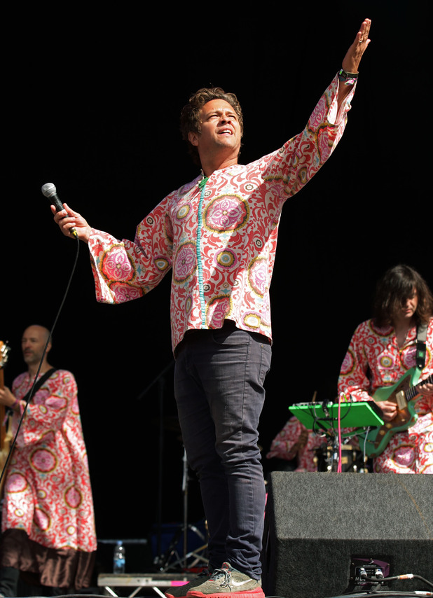 Tim DeLaughter of The Polyphonic Spree