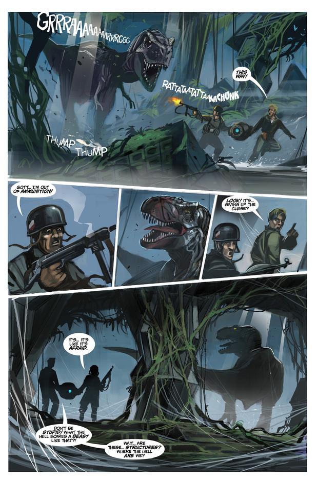 'Chronos Commandos: Dawn Patrol' #3