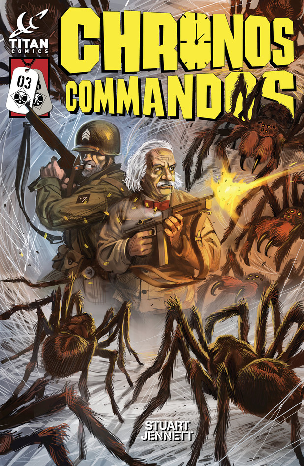 'Chronos Commandos: Dawn Patrol' #3