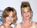 Melanie Griffith reacts to her daughter being cast as Anastasia Steele in new film.