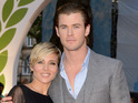 Chris Hemsworth's wife is pregnant with the couple's second child.