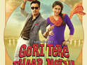 Actor reveals mud got everywhere during one Gori Tere Pyaar Mein scene.