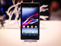 Xperia Z1 smartphone unveiled by Sony at IFA tech expo in Berlin.