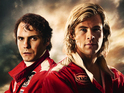 Chris Hemsworth, Daniel Brühl face off in a new preview clip from Ron Howard's Rush.