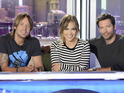Jennifer Lopez, Harry Connick Jr and Keith Urban appear in season 13 promo photo.