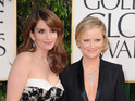 "Fey jokes that she wants to avoid ""stinking up"" the Golden Globes."