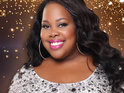 "Amber Riley says she is ""working really hard"" to prepare for the ABC show."
