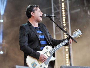 James Dean Bradfield of Manic Street Preachers at BBC Radio 2 Live in Hyde Park