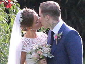 Steven Manderson AKA Professor Green marries Millie McIntosh at Babington House, Somerset