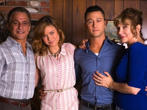Tony Danza, Glenne Headly, Joseph Gordon-Levitt and Brie Larson in 'Don Jon'