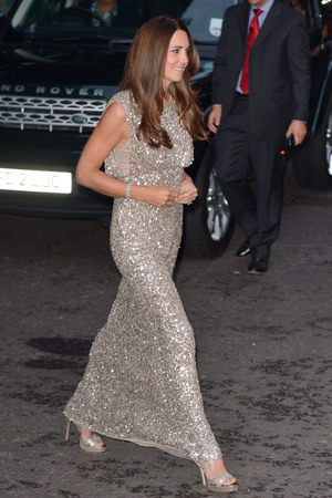 The Duchess of Cambridge arriving at the inaugural Tusk Conservation Awards at the Royal Society, London.