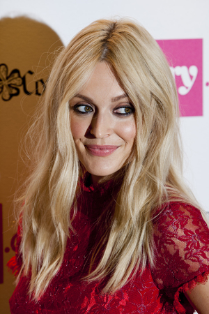 Fearne Cotton  arriving at the launch of Fearne Cotton's Spring/Summer 2014 range for Very.co.uk, at Claridge's in central London.
