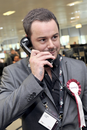 Danny Dyer at the BGC Annual Global Charity Day, 2013.