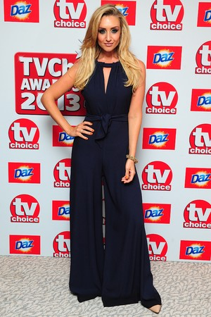 Catherine Tyldesley arriving for the 2013 TV Choice awards at the Dorchester Hotel, London.