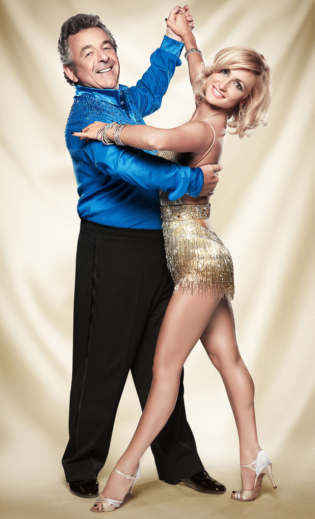 Tony Jacklin and Aliona Vilani