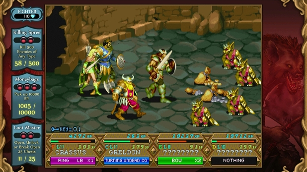 Dungeons & Dragons: Chronicles of Mystara screenshot.