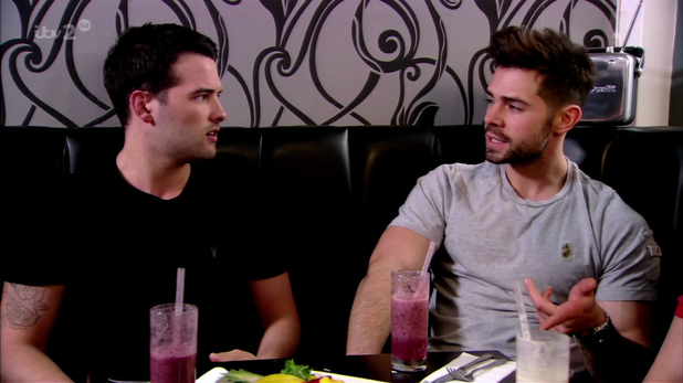 Ricky Rayment and Charlie King on 'TOWIE'