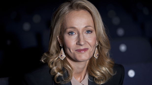 JK Rowling at the Times Literature Festival 2012