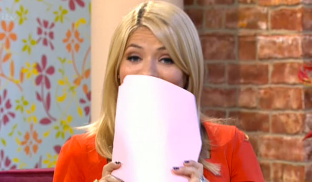 Holly Willoughby cringes at Katie Hopkins on This Morning