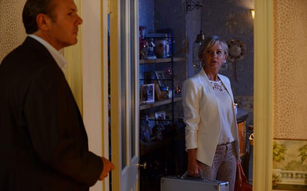 Naomi arrives to see David.