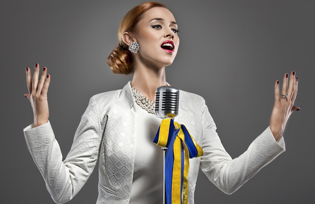 Una Healy as Eva Peron