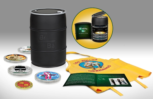 The complete series of 'Breaking Bad' on collector's edition Blu-ray.