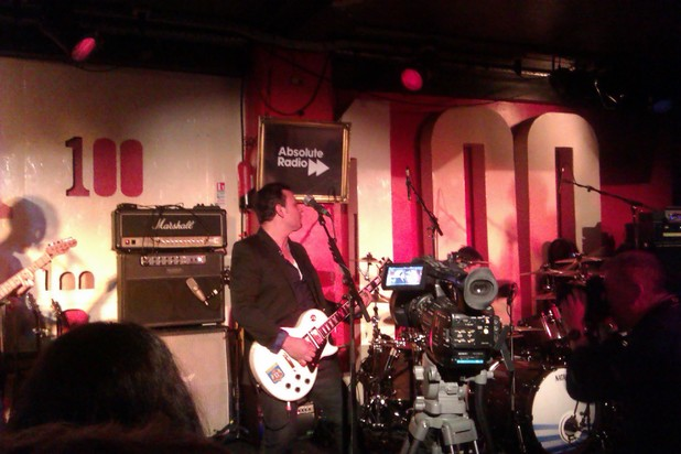 Manic Street Preachers James Dean Bradfield at the 100 Club