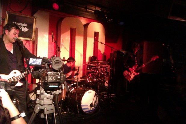 Manic Street Preachers live at the 100 Club