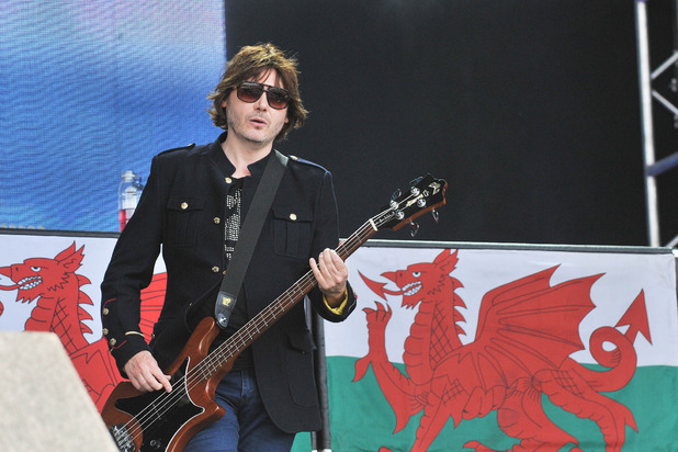 Nicky Wire of Manic Street Preachers at BBC Radio 2 Live in Hyde Park