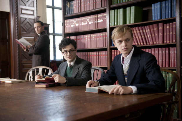 Daniel Radcliffe and Dane DeHaan in 'Kill Your Darlings'