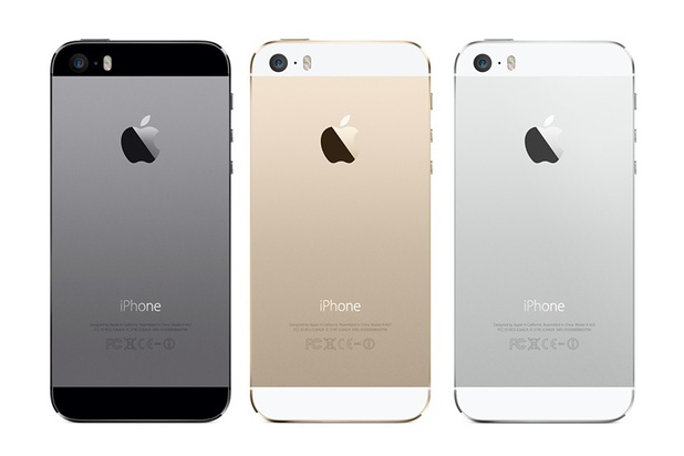 Apple iPhone 5S handset colours.