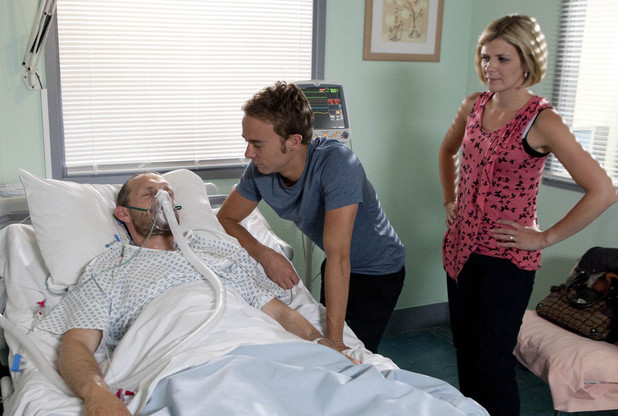What will Leanne make of David's pleas?